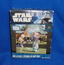 2011 Star Wars Inflatable Sprinkler Bop Bag with Original Box