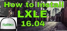 LXLE 32 bit DVD 27B Another great replacement for XP
