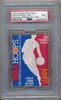 1989 Hoops Basketball Plastic Pack Series 1 Michael Jordan A/S on Top PSA 9 #018