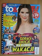 SANDRA BULLOCK on front cover TO & OWO TV 34/2017 OMD,John Wick/Keanu Reeves