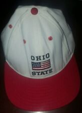 New listing Vintage 1980's Ohio State Snapback Hat American Flag American made spellout