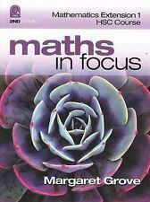 Mathematics Extension 1 HSC Course by Margaret Grove (Paperback, 2009)