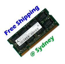 Qimonda 2GB PC2-5300 667MHz LAPTOP Memory Ram QUALITY and Free Shipping from Syd