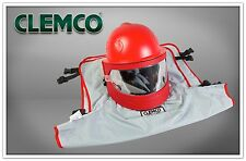 CLEMCO INDUSTRIES APOLLO 600 HP SANDBLAST HELMET WITH DLX SUSPENSION #25190