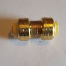 """10 PIECES 1/2"""" X 1/2"""" SHARKBITE STYLE PUSH FIT COUPLINGS FITTINGS NEW"""
