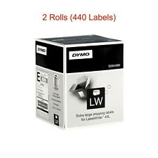 "2 x Genuine Large DYMO Shipping Labels LW 4x6"" (104x159mm) 4XL SD0904980"