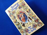 Rosary PRAYER Book How to Pray the Rosary 53 pages color history of the Rosary