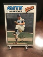 1977 Topps Tom Seaver New York Mets #150 Baseball Card