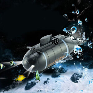 Remote Control Mini Submarine Under Water RC Boat Kids Electric Model Toy Gift
