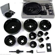 16PC Kit conjunto de Sierra de Agujero 19-127MM Madera aleaciones metálicas