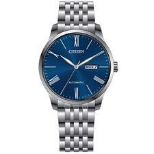 Citizen NH8350-59L Blue Dial Silver Automatic Men's Analog Watch