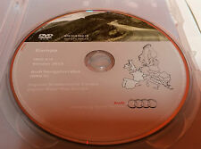 Audi Navigation plus RNS E DVD2 GPS Original Disc - Version 2015 A3 A4 A6 TT UK
