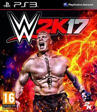WWE 2k17 (PS3) NEUF scellé WWF LUTTE 2017 Version