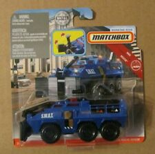 MBX Rescue 2019 Matchbox Working Rigs SCANIA Tactical Command Center Police C60