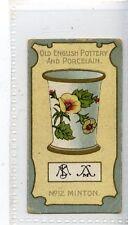 (Jd7579) LEA,OLD POTTERY & PORCELAIN,MINTON,1912,#12