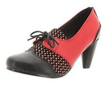 Banned Nita 40s Vintage Style Lace Up Shoes size 39
