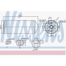 Nissens Trockner, Klimaanlage Ford, Infiniti, Nissan 95056