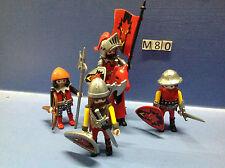 (M80) playmobil soldat du dragon rouge 3319 3269 3268