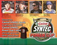 2008 Castrol Syntec Power Cup Formula Drift postcard Foust Millen Forsberg