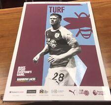 BURNLEY v LIVERPOOL 18/19 Premier League & Free Team Sheet