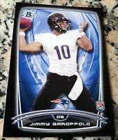 JIMMY GAROPPOLO 2014 Bowman BLACK Rookie Card RC Logo 49ers 2 Superbowl Rings