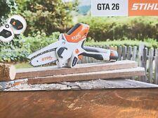 "New In Box Stihl - Gta 26 Hand Chainsaw Battery Garden Pruner ""No Reserve"""