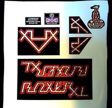 Raleigh BOXER XL bike decal/stickers (full set)