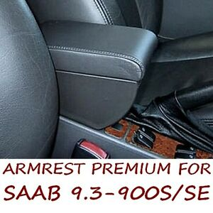 Armrest with storage for SAAB 9.3 (1997-2003) 900S/SE (1994-1998) -MADE IN ITALY