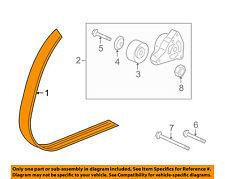 HONDA OEM-Serpentine Drive Fan Belt 38920RBBE03