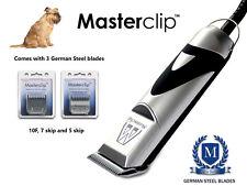 Bruxelles Griffon cane Clippers Set con 3 lame da Masterclip Professional
