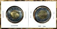 Canada 2006 Maple Leaf Toonie BU UNC From Mint Roll!!