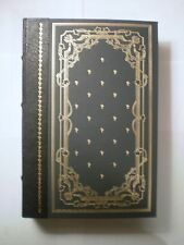 1981 Franklin Mint Library Vanity Fair William Thackeray Gilt Leatherbound