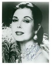 Ann Miller (Vintage, Inscribed) signed photo COA