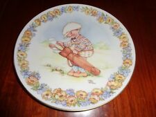 Gresham Collectors Plate GIVE IT YOUR BEST SHOT - MEMORIES OF YESTERDAY