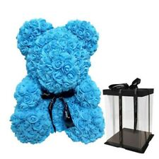 Flower Bear With Box Love Rose Girls Birthday Ladies Wedding Valentine Gift
