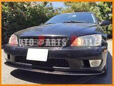 Universal Carbon Fiber Front Bumper Flat Lip For LEXUS IS200 IS300 2001-2005