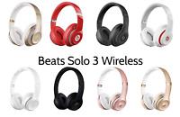 Beats by Dre Solo 3 OR Studio 2 Wireless Wired On Ear Headband Headphones