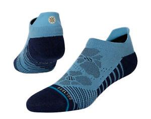 Stance Feel 360 - Flower Fields Tab Golf Blue Ankle Socks M258C20FLO-BLU Large