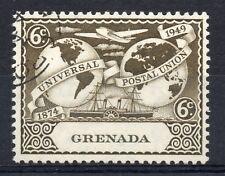 Granada = 1949 U.P.U. 6 C. SG 169. muy bien utilizado.