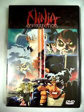 Ninja Resurrection - Revenge of Jubei/Hells Spawn Anime (DVD, 1999)