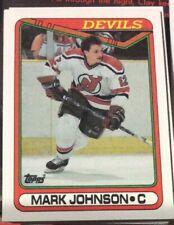1990 Topps Hockey #178 Mark Johnson - Many Sports Card Available