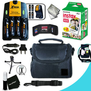 PRO Accessories KIT f/ FujiFilm Instax Mini 8 w/ Fuji Instax 20 Film + MORE