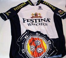 ★★★ Maillot cycliste FESTINA  Sibille vintage Tour de France - taille 7★★★