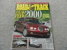 1999 Volvo S80 T6 / 2000 Jaguar S Type Road and Track Magazine