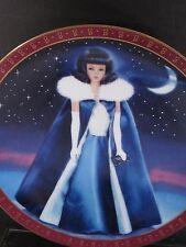 Danbury Mint 1990 High Fashion Barbie 1965 MIDNIGHT BLUE  Ltd Ed Plate MIB