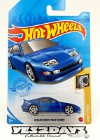 Latest Release Hot Wheels 2021 Nissan 300zx - Twin Turbo Metalic Blue