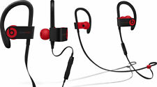 Beats By Dr. Dre PowerBeats3 Wireless In-Ear Headphones-Black & Red-Excellent
