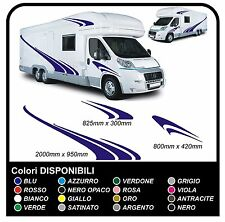 adesivi camper Kit completo camper e roulotte Set Camper Van RV Horsebox CARAVAN