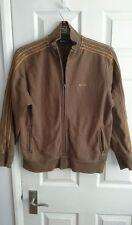 Ben sherman brown large zip jacket track top