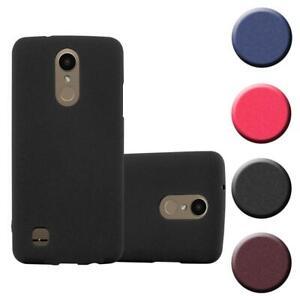 Schutz Hülle für LG K10 2017 US Version Handy Cover Case TPU Matt Bumper